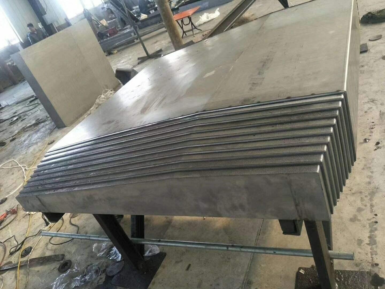 玉環導軌鋼板防護罩