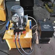 100吨槽钢液压冲孔机