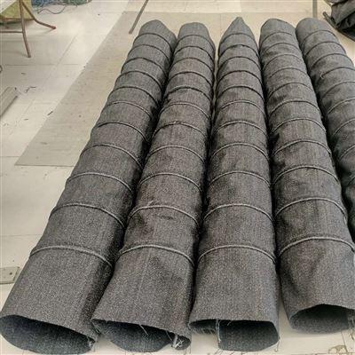 厂家定制云南钢圈式散装机卸料口伸缩布袋厂家