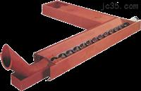 供应质无轴螺旋蛟龙叶片 方钢螺旋杆排屑机