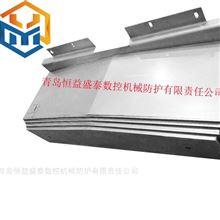 数控机床附件伸缩钢板导轨防护罩上门测量