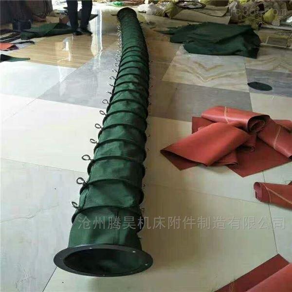 耐高温风机帆布排风管 供应伸缩软连接
