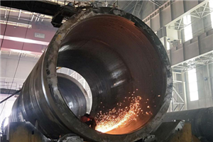 兰石重装公司制造千吨级锻焊加氢反应器