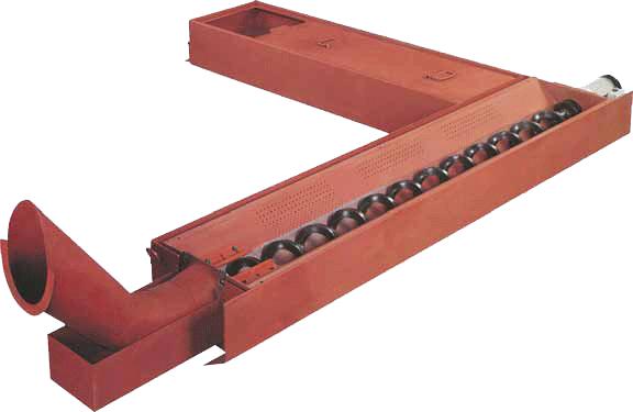 机床螺旋杆排屑器厂家产品图